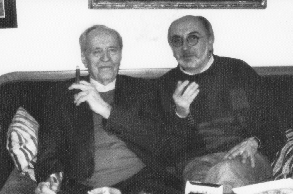 Hans-Jürgen Zacher bei Eberhard Bethge